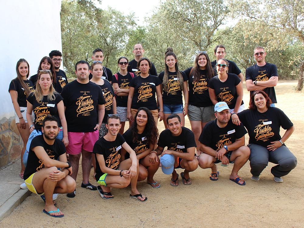 Foto de algunos de los voluntarios.