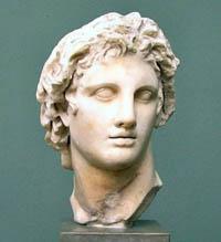 Ilustración de Alejandro Magno