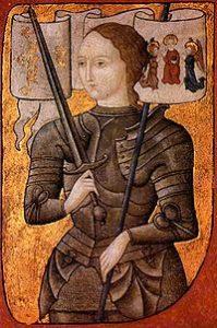 Ilustración de Juana de Arco