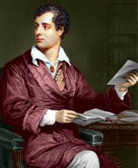 Cuadro de Lord Byron