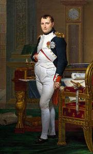 Cuadro de Napoleón