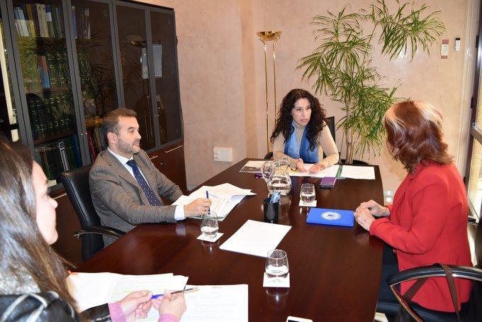 Reunión Consejera de Igualdad, Políticas Sociales y Conciliación