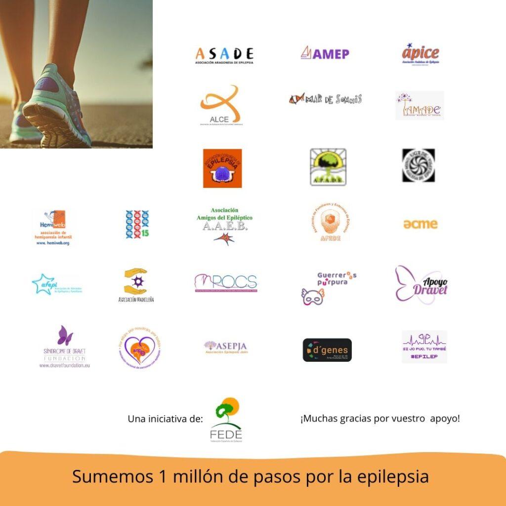 Un millón de pasos por la epilepsia