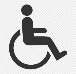 Logo  persona discapacitada